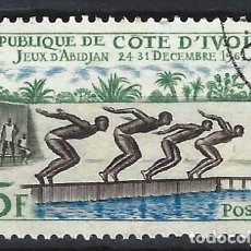 Francobolli: COSTA DE MARFIL 1961 - JUEGOS DEPORTIVOS DE ABIDJAN - USADO. Lote 215175731