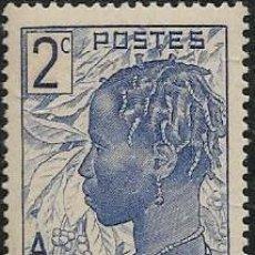 Sellos: COSTA DE MARFIL YVERT 110, NUEVO CON GOMA. Lote 277056908