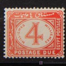 Sellos: EGIPTO 1 SELLO NUEVO MNH 1920-22 RAREZA EGYPT E061. Lote 27202635