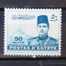 Sellos: EGIPTO 1 SELLO NUEVO MNH 1939 EGYPT E175. Lote 143894125