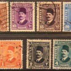 Sellos: EGIPTO SELLOS USADOS 1936-37 EGYPT E-140. Lote 40223086