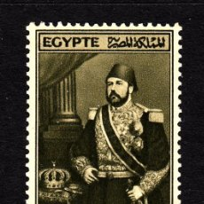 Sellos: EGIPTO 234** - AÑO 1945 - 50º ANIVERSARIO DE LA MUERTE DE ISMAIL PACHA . Lote 130368916