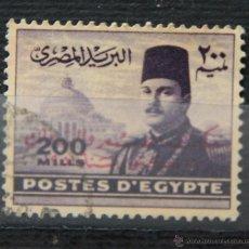 Sellos: EGIPTO SELLO USADO 1952 EGYPT E192B. Lote 43644268