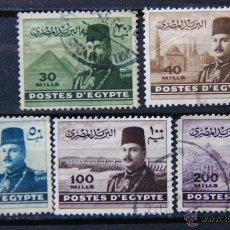 Sellos: EGIPTO SELLO USADO 1947 EGYPT E186. Lote 43644501