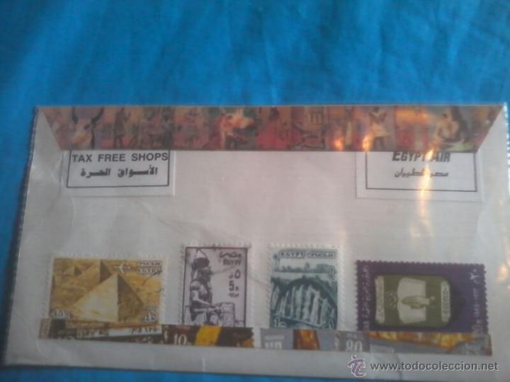 COLECCION SELLOS EGYPT AIR (Sellos - Extranjero - África - Egipto)