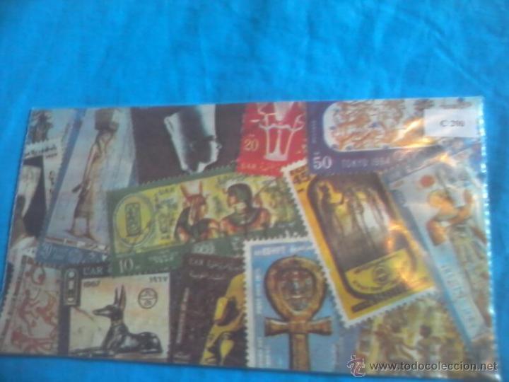 Sellos: COLECCION SELLOS EGYPT AIR - Foto 3 - 45074138