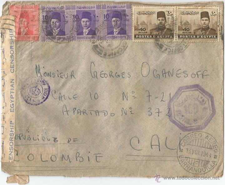 1944 - CORREO AÉREO EGIPTO (Sellos - Extranjero - África - Egipto)