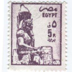 Selos: EGIPTO 1985. STATUES ESTATUAS - RAMSES II, LUXOR. Lote 50590323