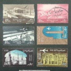 Sellos: SELLOS DE EGIPTO. YVERT A-88/94. SERIE COMPLETA USADA. . Lote 56970418
