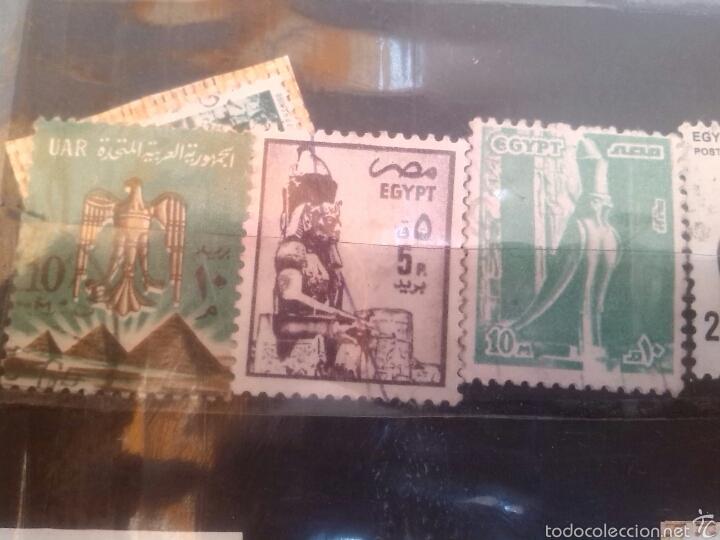 Sellos: Lote de sellos de Egipto - Foto 2 - 56852864