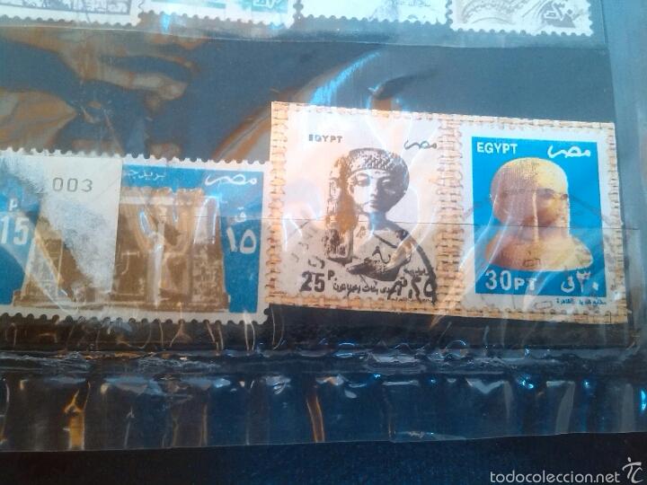Sellos: Lote de sellos de Egipto - Foto 3 - 56852864