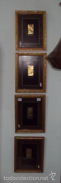 COLECCIÓN DE 8 SELLOS EN ORO TUTANCAMUN (Sellos - Extranjero - África - Egipto)