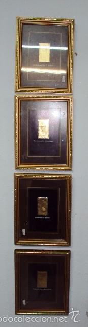 Sellos: Colección de 8 sellos en oro Tutancamun - Foto 2 - 57252996