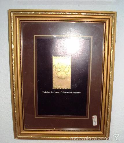 Sellos: Colección de 8 sellos en oro Tutancamun - Foto 3 - 57252996