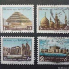 Sellos: SELLOS DE EGIPTO.. YVERT 814/7. SERIE COMPLETA USADA.. Lote 57354212
