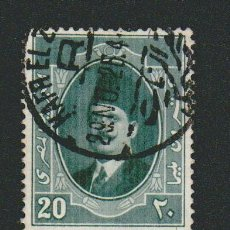 Sellos: EGIPTO.1923-24.-20 MILLS.YBERT.89.USADO.. Lote 76549407
