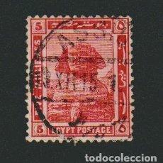 Sellos: EGIPTO.1914.-5 MILLS.YBERT.48. USADO.. Lote 76628347