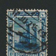 Sellos: EGIPTO.1914.-10 MILLS.YBERT.49. USADO.. Lote 76628479