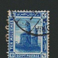 Sellos: EGIPTO.1914.-10 MILLS.YBERT.49. USADO.. Lote 76628635