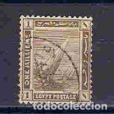 Sellos: BARCOS DE EGIPTO. SELLO AÑO 1914. Lote 91528380