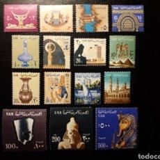 Sellos - EGIPTO. YVERT 418/24. SERIE COMPLETA NUEVA CON CHARNELA EXCEPTO 590 a 591 (VALORES ALTOS) ***. - 125951799