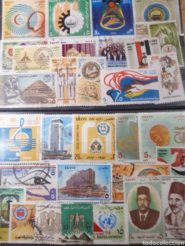 SELLOS DE EGIPTO LOTE H4 (Sellos - Extranjero - África - Egipto)