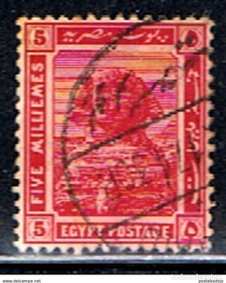 EGIPTO // YVERT 48 // 1914 ... USADO (Sellos - Extranjero - África - Egipto)