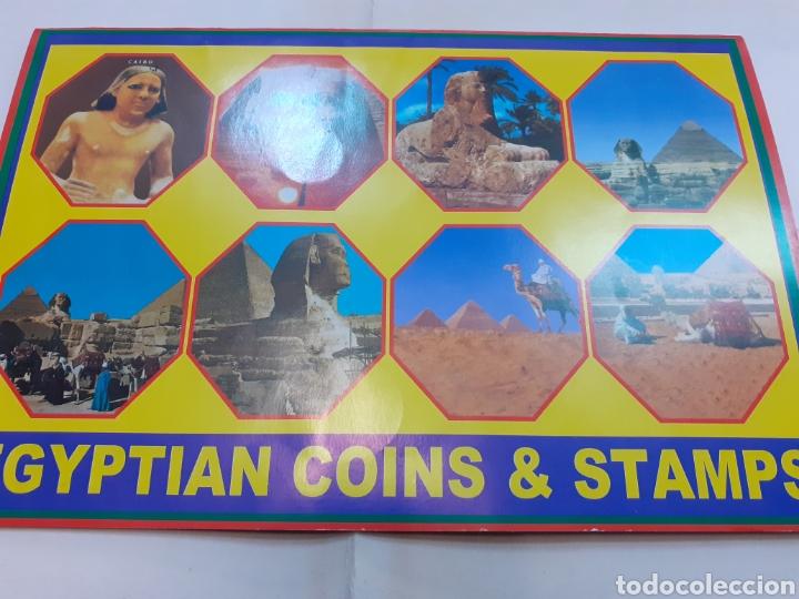 Sellos: Lote de sellos de Egipto pegados - Foto 3 - 191622811