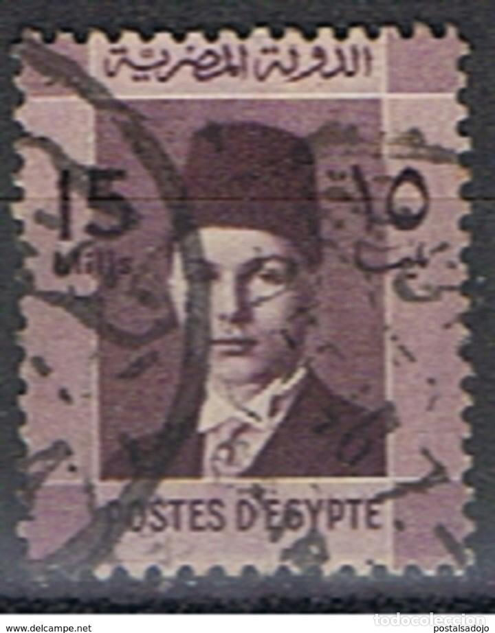 EGIPTO // YVERT 194 // 1937-44 ... USADO (Sellos - Extranjero - África - Egipto)
