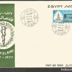 Sellos: EGIPTO SOBRE PRIMER DIA DE CIRCULACION YVERT NUM. 1045. Lote 195508108