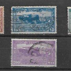 Sellos: EGIPTO IMPORTANTE SELLOS DE LA SERIE Nº 97/102 CIRCULADOS DEL AÑO 1926. Lote 200155146