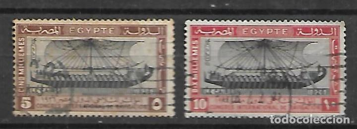 EGIPTO SELLOS DE LA SERIE Nº 108/109 CIRCULADOS DEL AÑO 1926 (Sellos - Extranjero - África - Egipto)