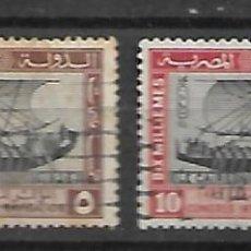 Sellos: EGIPTO SELLOS DE LA SERIE Nº 108/109 CIRCULADOS DEL AÑO 1926. Lote 200156306