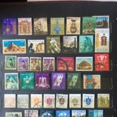Sellos: SELLOS EGIPTO, LOTE DE 47 SELLOS USADOS DIFERENTES. Lote 202318983