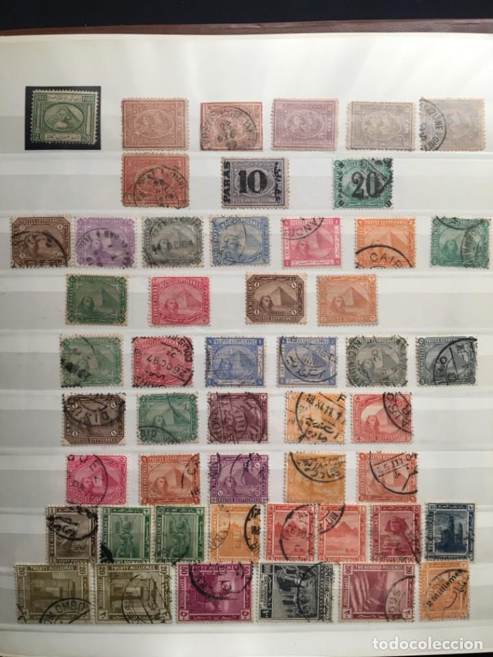 EGIPTO, 1867 - 1982 COLECCIÓN DE SELLOS, HOJAS BLOQUE EN NUEVO Y USADO, ALTO VALOR EN CATALOGO. (Sellos - Extranjero - África - Egipto)