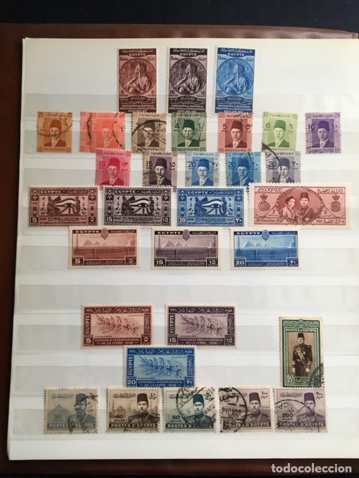 Sellos: EGIPTO, 1867 - 1982 Colección de Sellos, Hojas Bloque en Nuevo y Usado, Alto Valor en Catalogo. - Foto 4 - 202888332