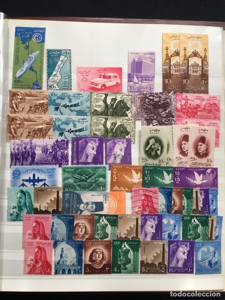 Sellos: EGIPTO, 1867 - 1982 Colección de Sellos, Hojas Bloque en Nuevo y Usado, Alto Valor en Catalogo. - Foto 9 - 202888332