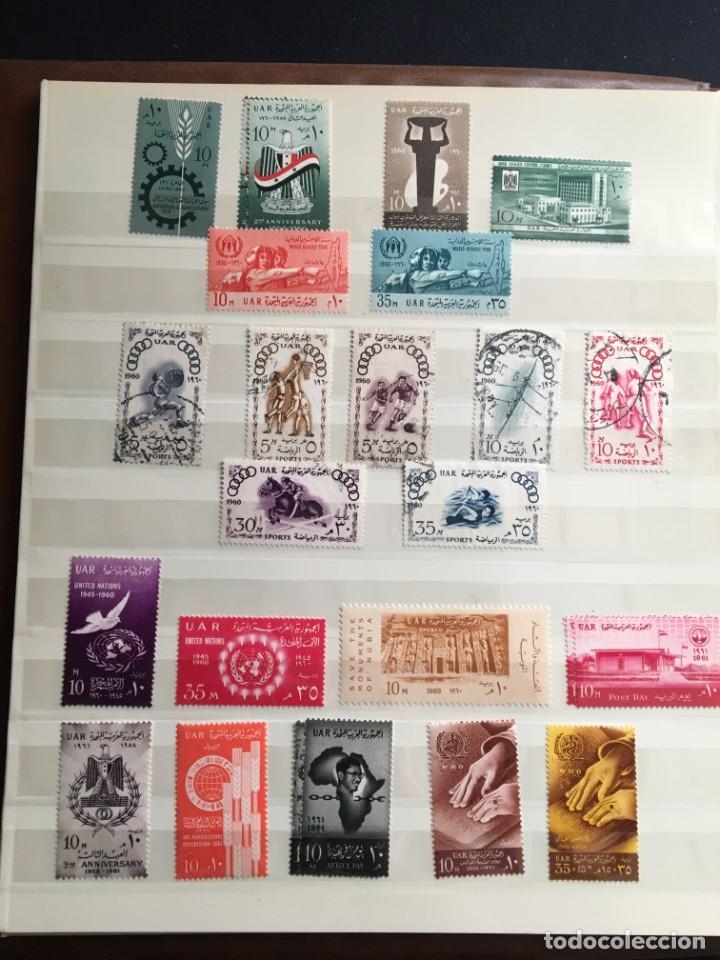 Sellos: EGIPTO, 1867 - 1982 Colección de Sellos, Hojas Bloque en Nuevo y Usado, Alto Valor en Catalogo. - Foto 12 - 202888332