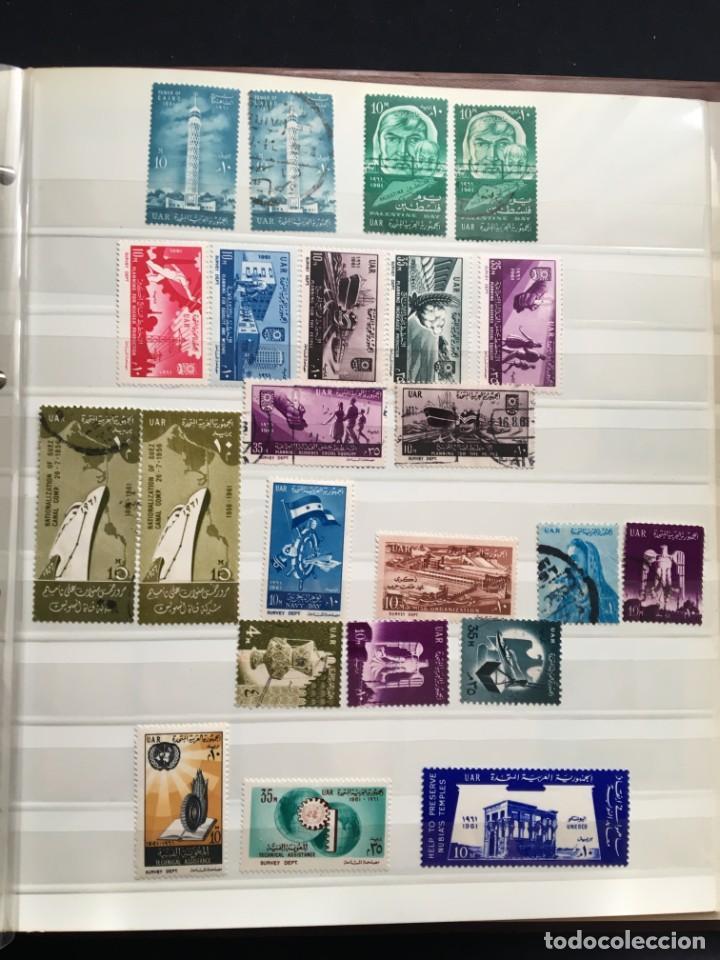 Sellos: EGIPTO, 1867 - 1982 Colección de Sellos, Hojas Bloque en Nuevo y Usado, Alto Valor en Catalogo. - Foto 13 - 202888332