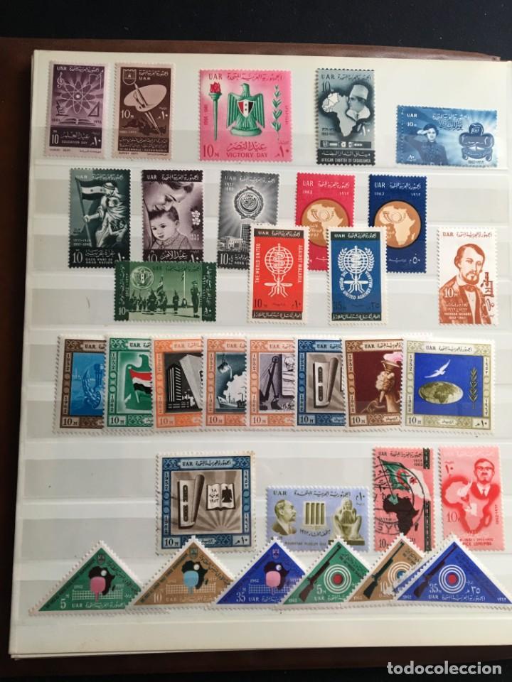 Sellos: EGIPTO, 1867 - 1982 Colección de Sellos, Hojas Bloque en Nuevo y Usado, Alto Valor en Catalogo. - Foto 14 - 202888332