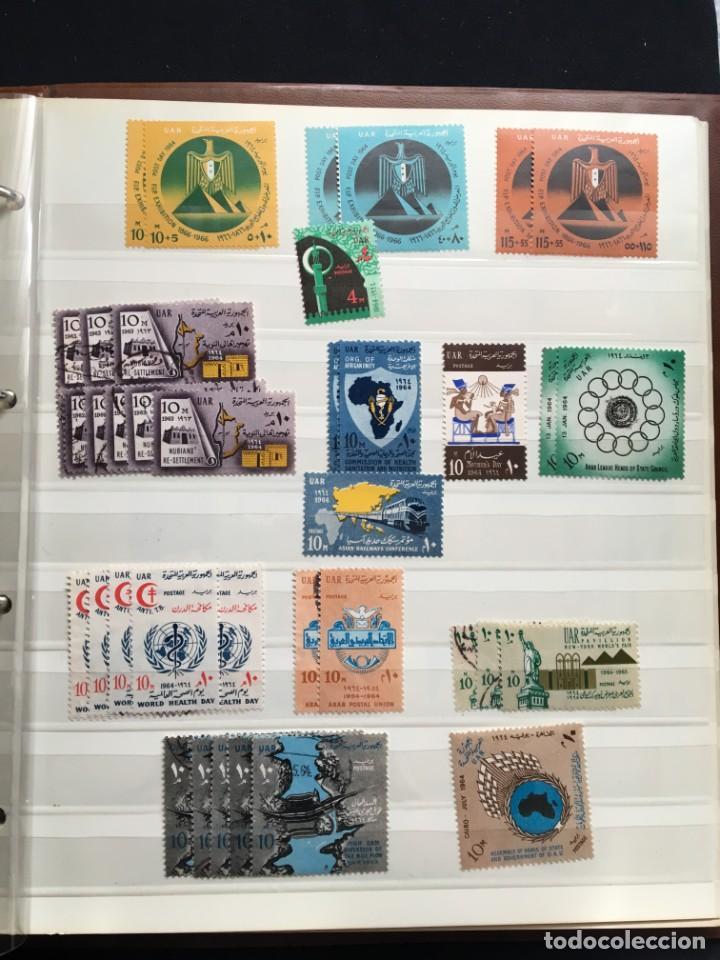 Sellos: EGIPTO, 1867 - 1982 Colección de Sellos, Hojas Bloque en Nuevo y Usado, Alto Valor en Catalogo. - Foto 17 - 202888332