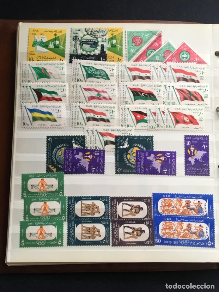 Sellos: EGIPTO, 1867 - 1982 Colección de Sellos, Hojas Bloque en Nuevo y Usado, Alto Valor en Catalogo. - Foto 18 - 202888332