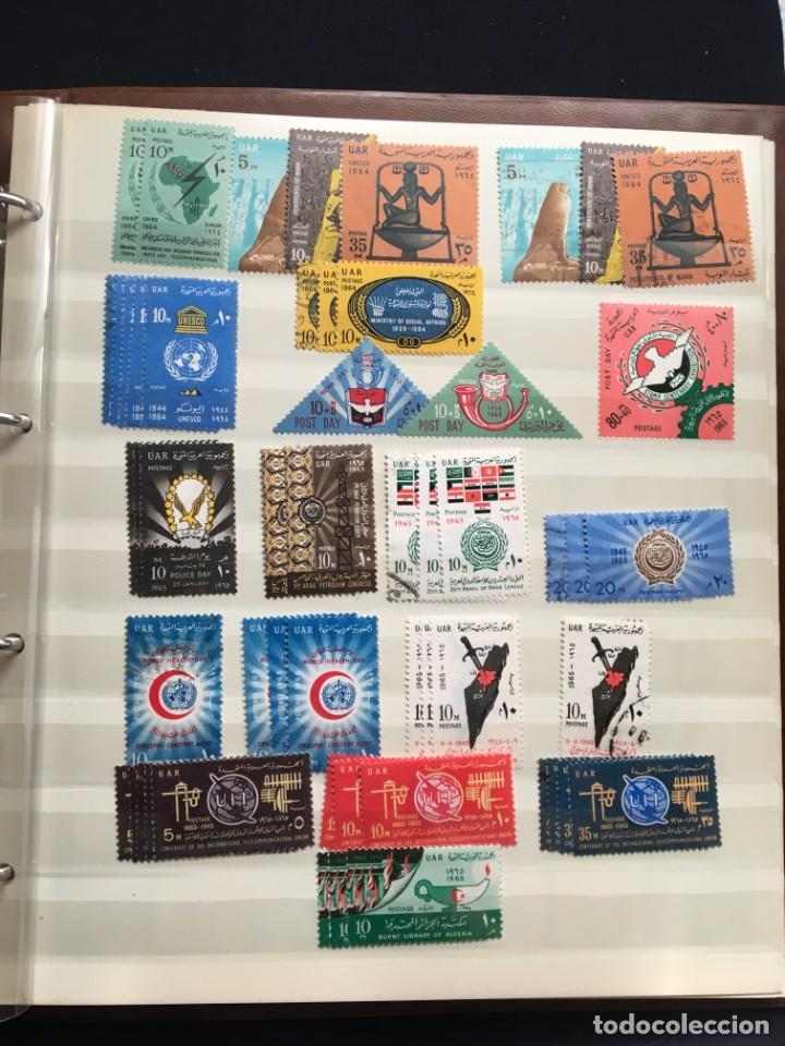 Sellos: EGIPTO, 1867 - 1982 Colección de Sellos, Hojas Bloque en Nuevo y Usado, Alto Valor en Catalogo. - Foto 19 - 202888332