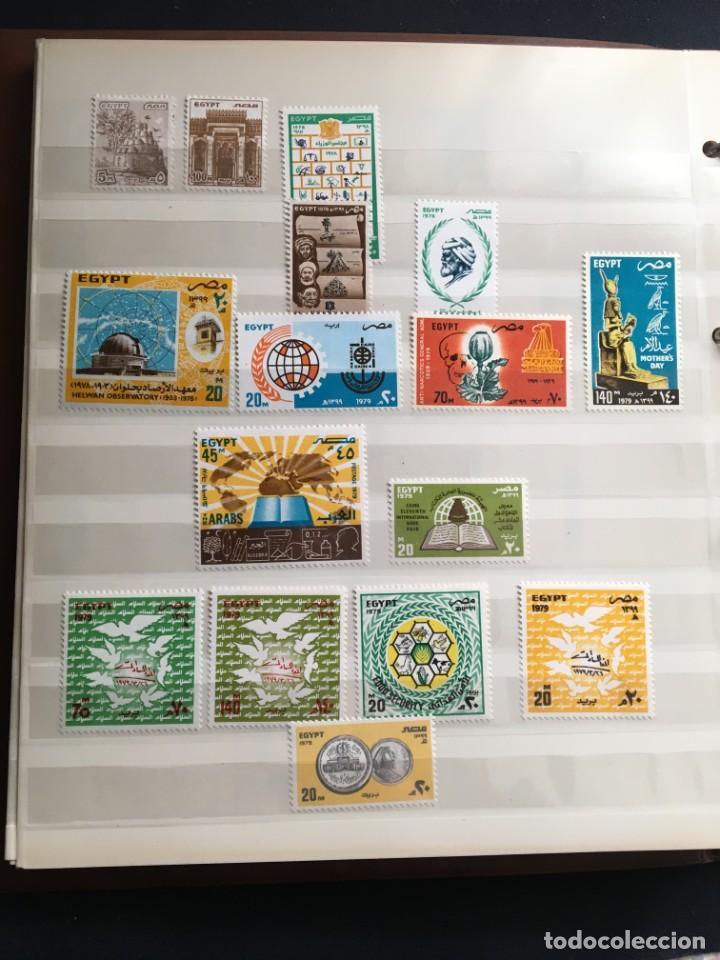 Sellos: EGIPTO, 1867 - 1982 Colección de Sellos, Hojas Bloque en Nuevo y Usado, Alto Valor en Catalogo. - Foto 24 - 202888332