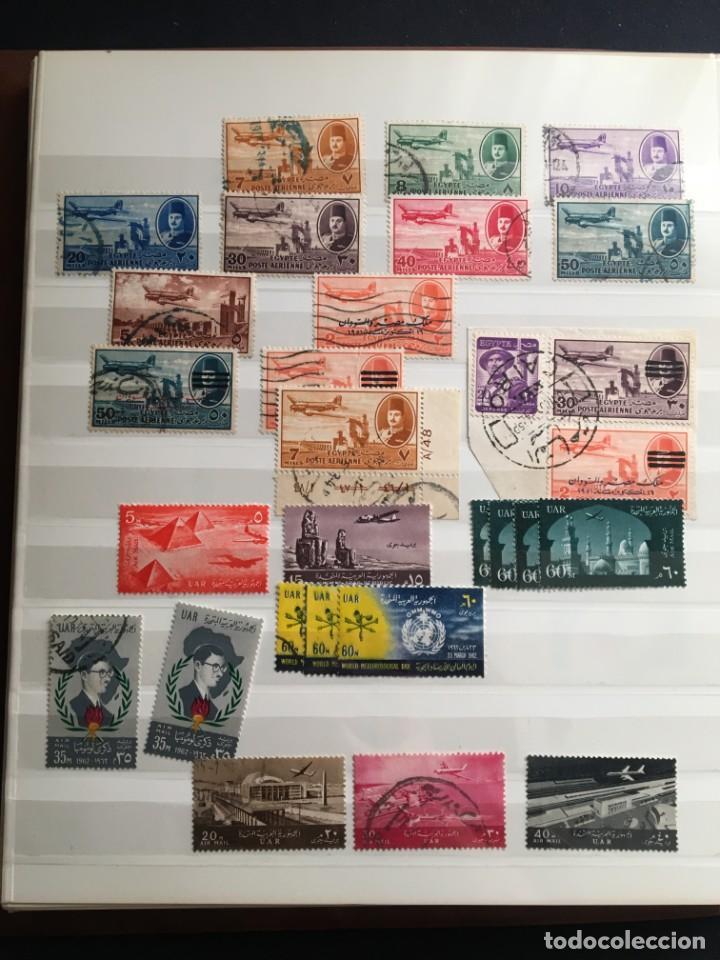 Sellos: EGIPTO, 1867 - 1982 Colección de Sellos, Hojas Bloque en Nuevo y Usado, Alto Valor en Catalogo. - Foto 30 - 202888332