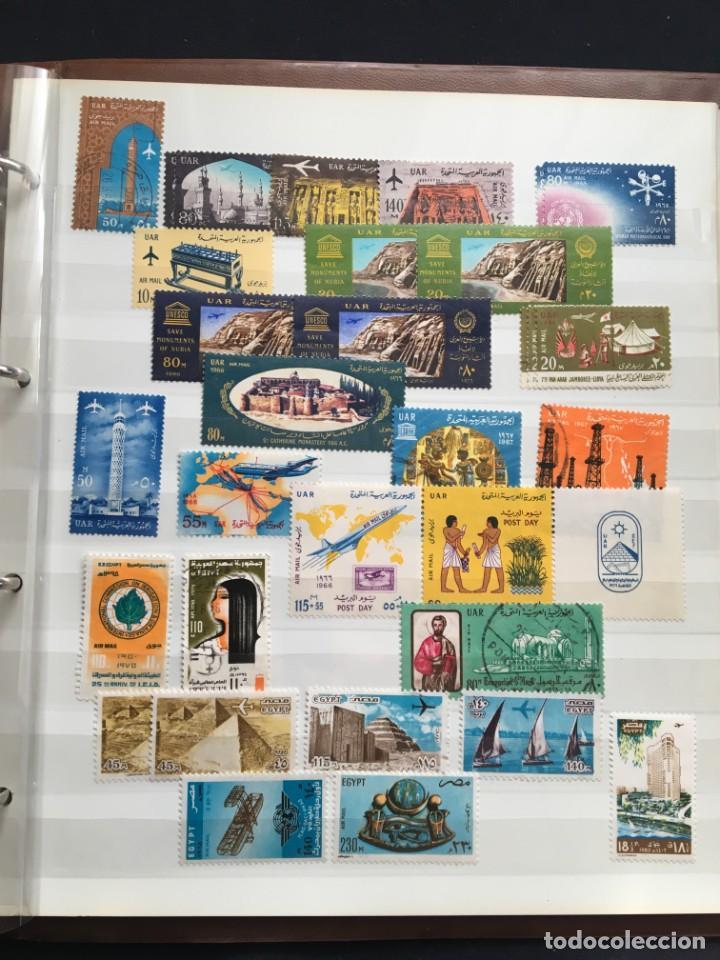 Sellos: EGIPTO, 1867 - 1982 Colección de Sellos, Hojas Bloque en Nuevo y Usado, Alto Valor en Catalogo. - Foto 31 - 202888332