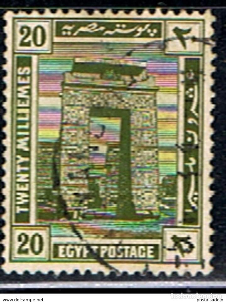 EGIPTO // YVERT 66 // 1920-22 ... USADO (Sellos - Extranjero - África - Egipto)