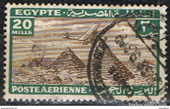 EGIPTO // YVERT 15 AEREO // 1933-38 ... USADO (Sellos - Extranjero - África - Egipto)