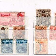Sellos: LOTE SELLOS EGIPTO - DIVERSAS EPOCAS - USADO. Lote 219203856