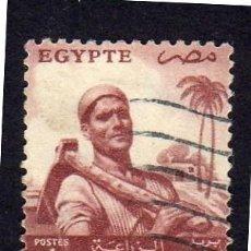 Sellos: ÁFRICA. EGIPTO. AGRICULTOR. 1954. USADO SIN CHARNELA. Lote 228478935